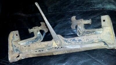 ANTIQUE E.C. Stearns & Co Saw Vise Clamp Tool Syracuse NY