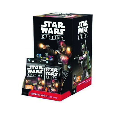 Star Wars Destiny-Empire at War - Booster Box (36 packs) new unopened