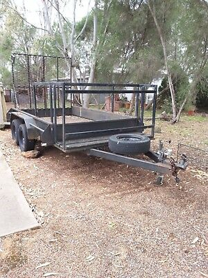 Tandem Trailer 10 x 6 with RAMP