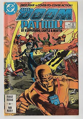 The Doom Patrol #1 DC Comics First Issue Collector's Item 1987 Wrap around cover