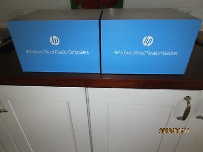 windows mixed reality headset and controllers HP 1440 spatial computing