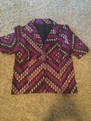 SALE! Women's Dashiki Clothing African Traditional Ethnic Size Small Shirt