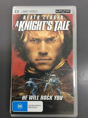 A Knight's Tale UMD Video Movie for Sony PSP
