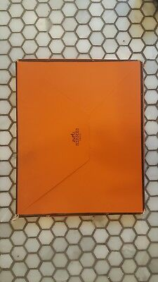 Hermes Notebook alone or with Leather Cover