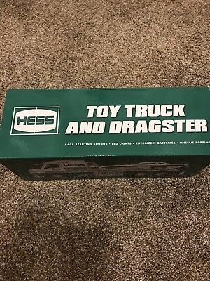 New 2016 Hess Toy Truck And Dragster