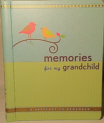 memories for my grandchild a keepsake to remember