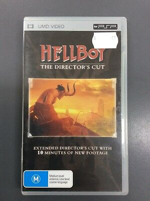 Hellboy Director's Cut UMD Video Movie for Sony PSP