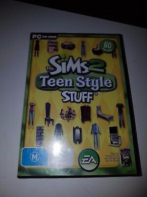The SIMs 2 Teen Style Stuff Expansion Pack Pc CD Rom Game