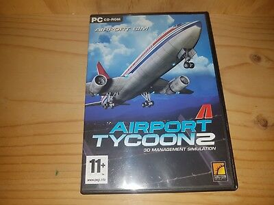 Airport Tycoon 2 PC CD-ROM Game
