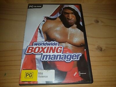 Worldwide Boxing Manager Pc Game Cd-Rom Game