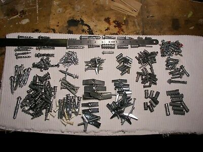 Monster lot mollies for masonry & drywall, toggles, wall griper, butterfly's