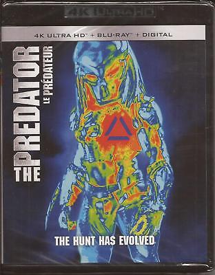THE PREDATOR 4K ULTRA HD + BLU-RAY + DIGITAL Boyd Holbrook Olivia Munn NEW 2018