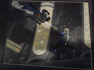 Batman vs. Mr. Freeze Animated Limited Edition Cell