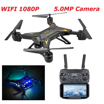 Foldable WIFI Quadcopter Drone with 1080P Camera Selfie Drone Camera Drones New