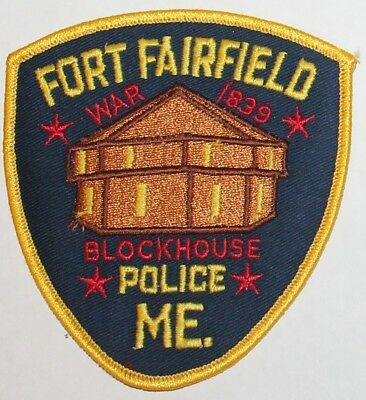 FORT FAIRFIELD POLICE Maine ME PD patch