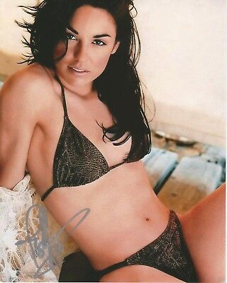 TSIANINA JOELSON -XENA-BRING IT ON-AMERICAN PIE 2- 8x10 Signed Photo Autograph