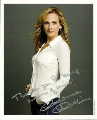 MARLEE MATLIN - CHILDREN OF A LESSER GOD - SWITCHED AT BIRTH - 8x10 Signed Photo