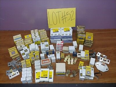 Huge Lot Of Thermal Overload Heaters 250 Total Square D CH WH Furnas ITE Misc...