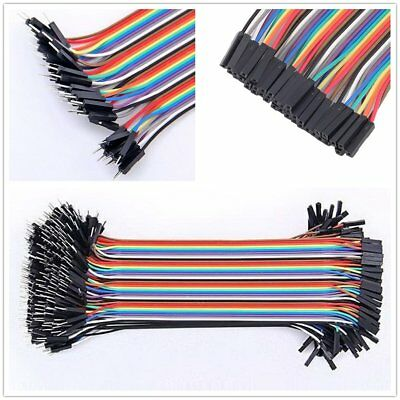 40PCS Jumper Wire Cable 1P-1P 2.54mm 10/20cm For Arduino Breadboard Hot A1