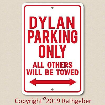 PP3659 WARNING ENTERING DYLAN/'S MAN CAVE Chic Sign Home Decor Funny Gift
