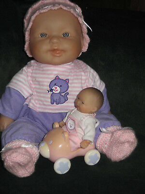 ****berenguer Soft Body Baby Doll And Baby****