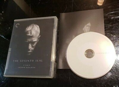 The Seventh Seal (Blu-ray Disc, 2009, Criterion Collection) Ingmar Bergman film