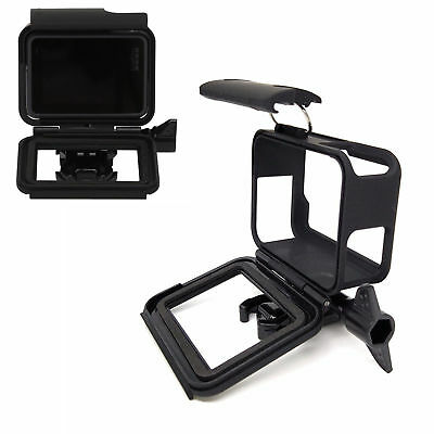 For GoPro Hero 7/6/5 Frame Housing Border Protective Shell Case - Black