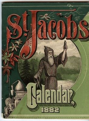 St. Jacobs 1882 Calendar trade booklet