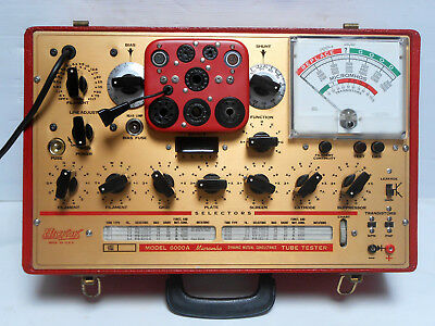 Hickok Model 6000A Tube / Valve Tester. Dynamic Mutual Conductance