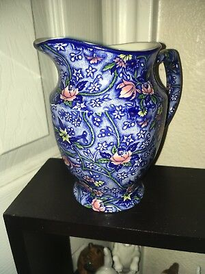 Blue chintz Ringtons Limited Tea Merchants milk pitcher