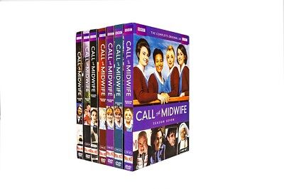 "NEW CALL THE MIDWIFE: Complete Series Seasons 1-7, DVD ""FAST Free Shipping"""