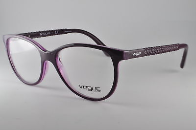 2891a75d4ed VOGUE EYEGLASSES VO 5030 2409 Top Violet Violet Transparent