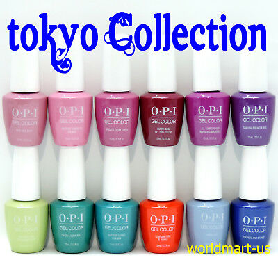 OPI GelColor Soak Off 0.5fl.oz TOKYO Collection Color /Choose Any Polish