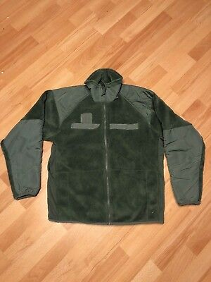 US Army Jacke ECWCS GEN III Polartec Fleece Jacke Jacket Cold Weather Small