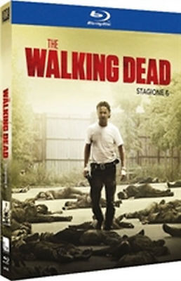 blu ray brd THE WALKING DEAD-STAGIONE 6 sei  5 brd-COFANETTO/BOX NUOVO ITALIANO