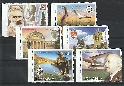 2019 Romania Stamps Europe Treasure Animals Art History Planes Set Mnh