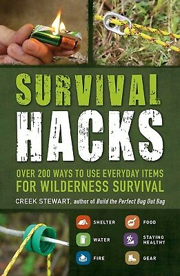 Survival Hacks Over 200 Ways for Wilderness Survival PDF eBook Free Shipping MRR
