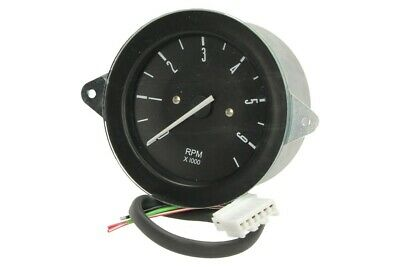 Tachometer Black Face VW T2 Bay 1976-1979