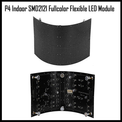 50pcs P4 indoor screen RGB flexible led matrix panel module 360 view angle
