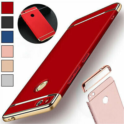 For Huawei P8 Lite 2017 Luxury Plating Bumper Hybrid Shockproof Protective Case