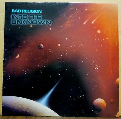 BAD RELIGION Into the Unknown LP vinyl SEALED new reissue NOFX RANCID GREEN DAY