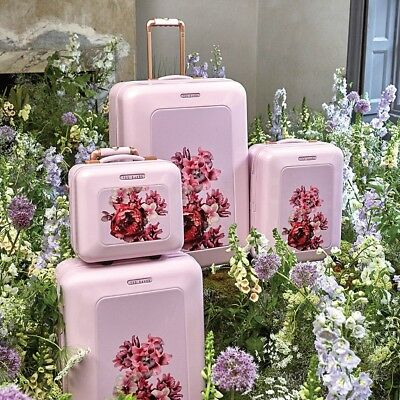 1421f18b9 TED BAKER SPLENDOUR PINK VANITY CASE LUGGAGE BRAND NEW Gift For Her  Valentines