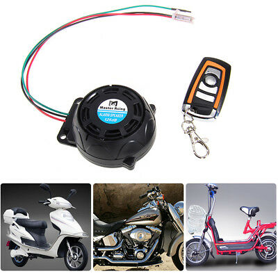 Motorcycle Motorbike Alarm System Anti-theft Immobiliser Security Remote Control