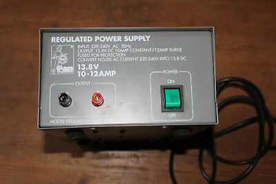 Netzteil Regulated Power Supply Pan 1012 13,8V 10-12 Amp Artikel Nr 25013