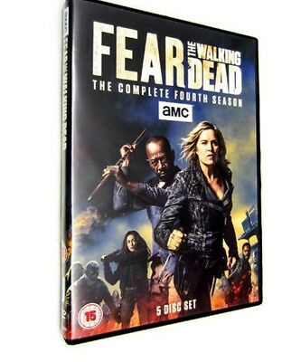 Fear The Walking Dead The Complete Season 4 Brand New Sealed Fast Free Postage