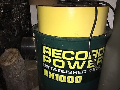 Record Power DX1000 Fine Filter 45 Litre Wood Dust Extractor With Hose