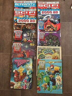 2000 AD Comic Book Magazine Collection