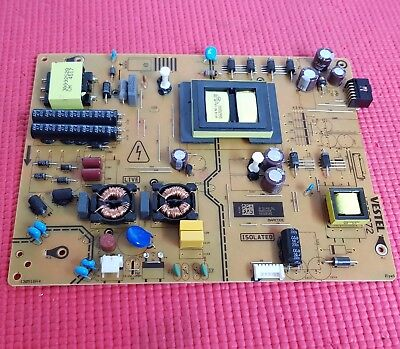 "Power Supply Board For Luxor Lux0155006/01 55"" Led Tv 17Ips72 23404982"