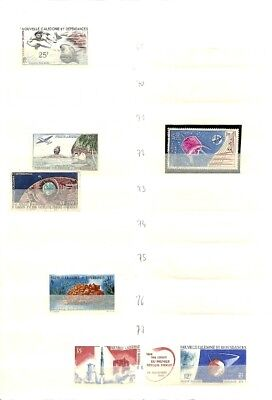 [OP7817] New Caledonia lot of stamps on 12 pages -see photos on description