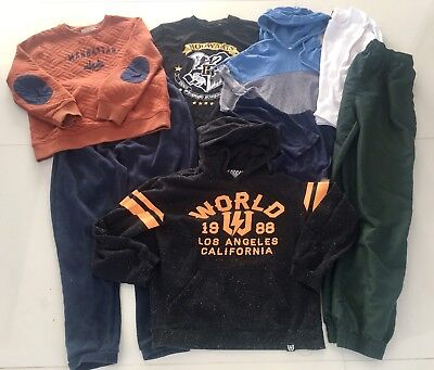 Boys  mix lot  hoodie , jumper and track pants   Size  10 - 12